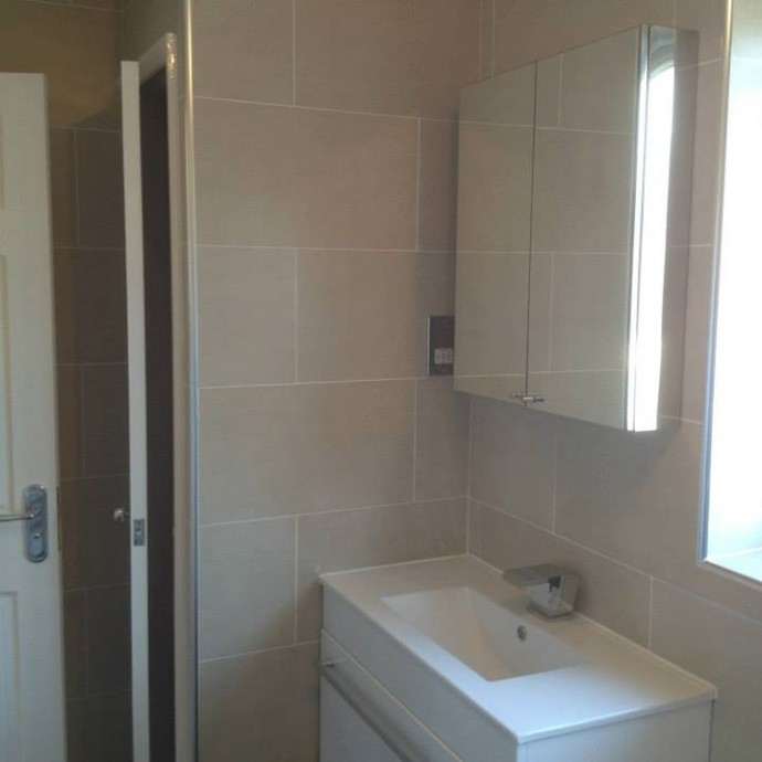 Bathroom renovation in East Grinstead.